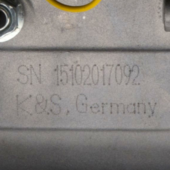 Individual Serial Numbers on Motors